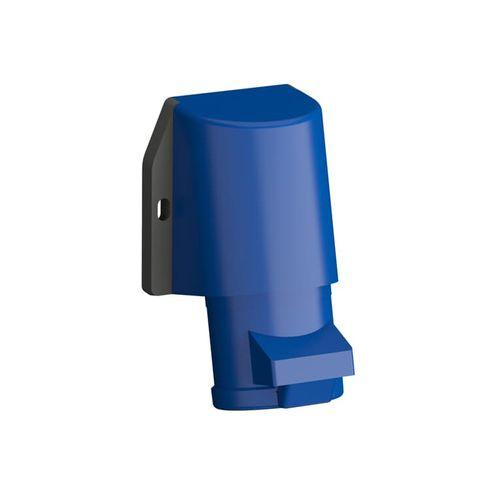 Tomada Industrial de Sobrepor 2P+T 16A IP44 - 216BRS6