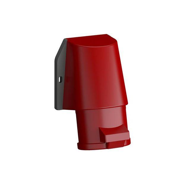 Tomada Industrial de Sobrepor 3P+N+T 16A IP44 - 416BRS6