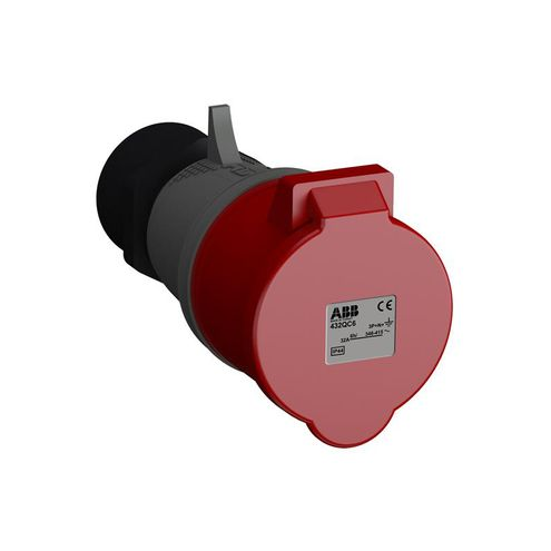 Tomada Industrial 3P+N+T 32A IP44 - 432BC6