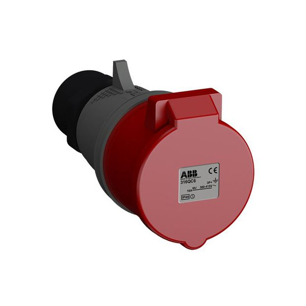 Tomada Industrial 3P+T 16A IP44 - 316BC6