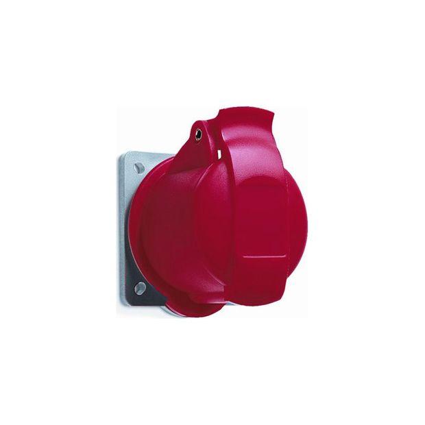 Tomada Industrial de Embutir 3P+N+T 32A IP44 - 432BR6