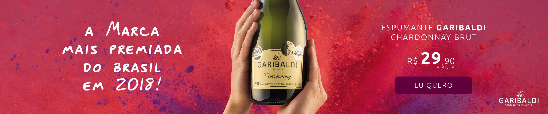 Espumante Garibaldi Chardonnay Brut! Compre Já!