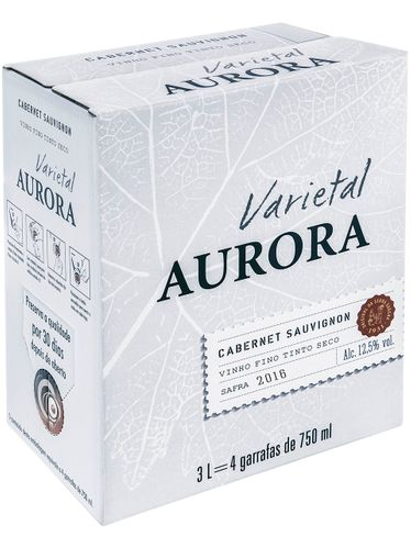 Aurora Varietal Cabernet Sauvignon Bag in Box 3000 mL