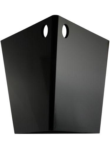 Balde para 1 Garrafa Triangular Preto