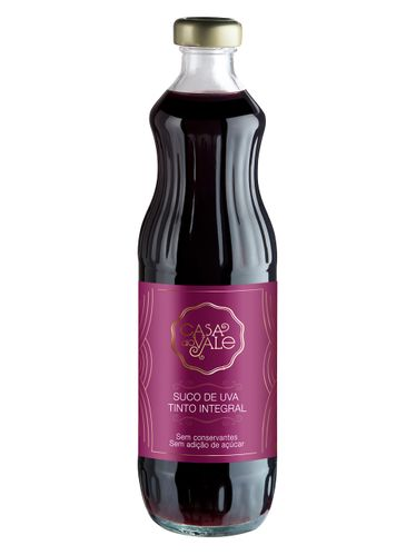 Casa do Vale Suco de Uva Integral Tinto 500 mL