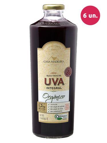 Casa Madeira Suco de Uva Integral Tinto Orgânico 1000 mL