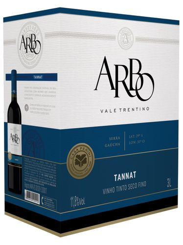 Casa Perini Arbo Tannat Bag in Box 3000 mL