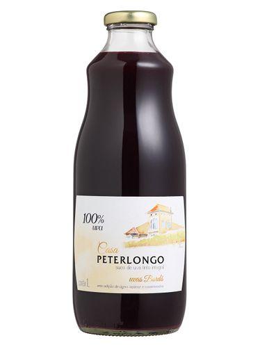Casa Peterlongo Suco de Uva Integral Tinto 1000 mL