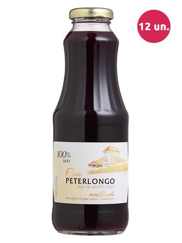 Casa Peterlongo Suco de Uva Integral Tinto 500 mL