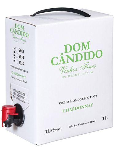 Dom Cândido Chardonnay Bag in Box 3000 mL