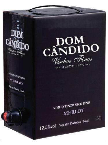 Dom Cândido Merlot Bag in Box 3000 mL