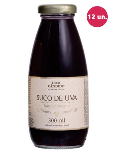 Dom Cândido Suco de Uva Integral Tinto 300 mL