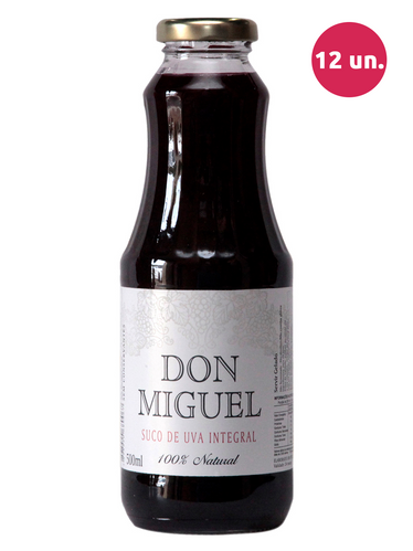 Don Miguel Suco de Uva Integral Tinto 500 mL