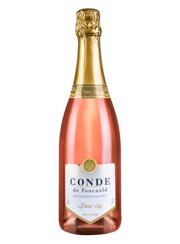 Espumante Conde De Foucauld Rosé Demi-Sec