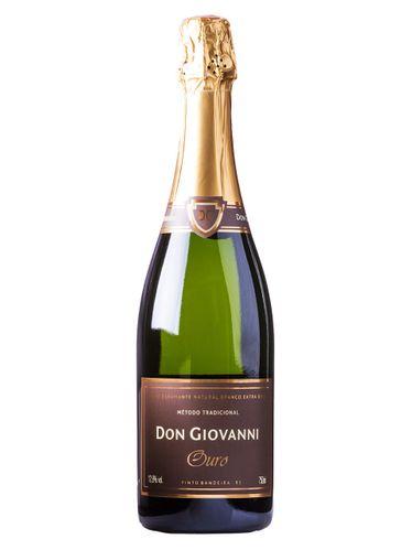 Espumante Don Giovanni Série Ouro Brut