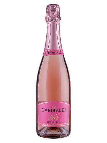 Espumante Garibaldi Vero Rosé Demi-Sec