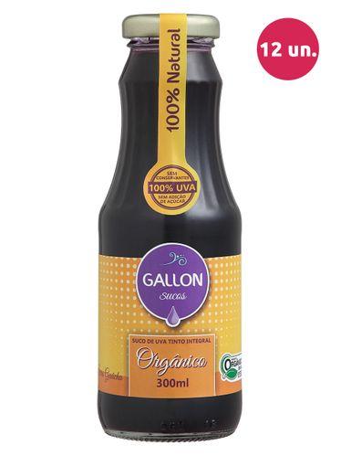 Gallon Suco de Uva Integral Tinto Orgânico 300 mL