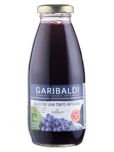 Garibaldi Suco de Uva Integral Tinto 300 mL