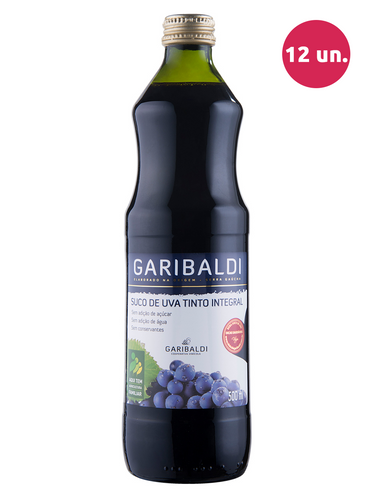 Garibaldi Suco de Uva Integral Tinto 500 mL
