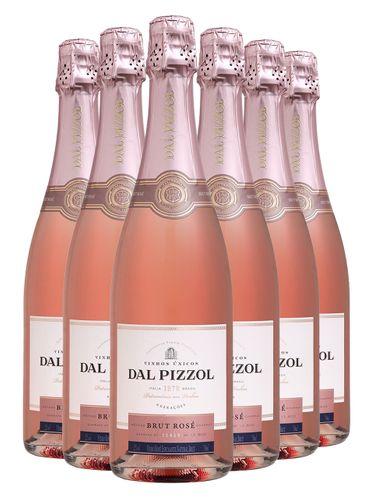 Kit Espumante Dal Pizzol Rosé Brut (Compre 5 / Leve 6)