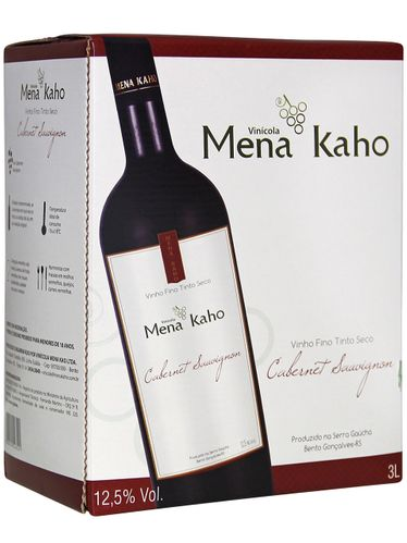 Mena Kaho Cabernet Sauvignon Bag in Box 3000 mL