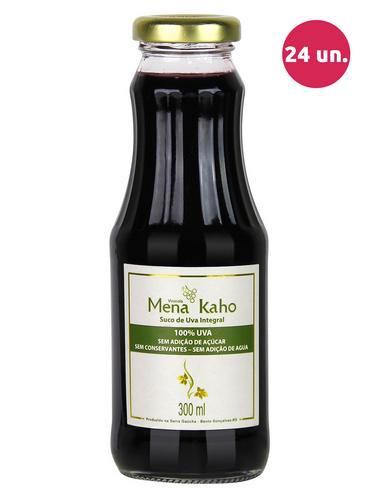 Mena Kaho Suco de Uva Integral Tinto 300 mL