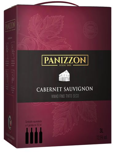 Panizzon Cabernet Sauvignon Bag in Box 3000 mL
