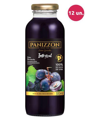 Panizzon Suco de Uva Integral Tinto 300 mL