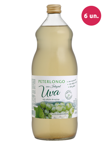 Peterlongo Suco de Uva Integral Branco 1000 mL