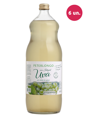 Peterlongo Suco de Uva Integral Branco 1500 mL