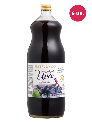 Peterlongo Suco de Uva Integral Tinto 1500 mL