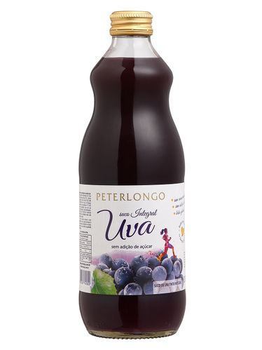 Peterlongo Suco de Uva Integral Tinto 500 mL