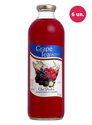 Salton Grape Tea com Frutas Vermelhas e Uva Merlot 750 mL