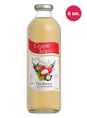 Salton Grape Tea com Lichia e Uva Moscato 750 mL