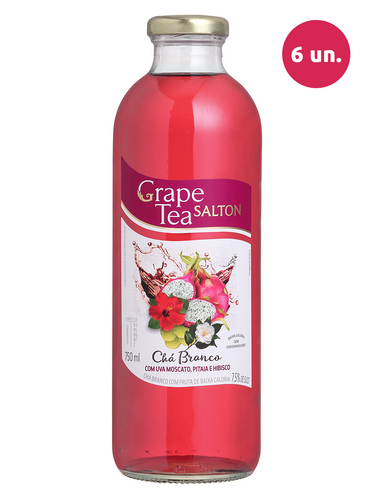 Salton Grape Tea com Uva Moscato, Pitaia e Hibisco 750 mL