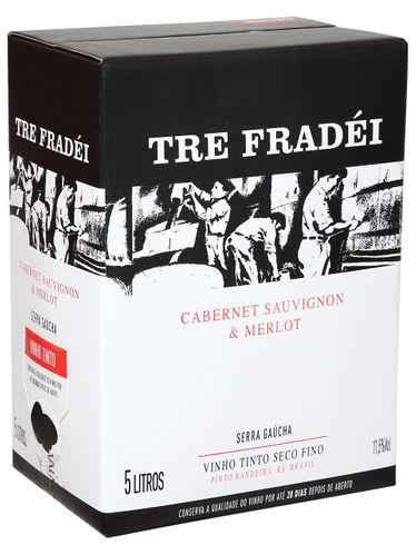 Tre Fradei Cabernet Sauvignon & Merlot Bag in Box 5000 mL