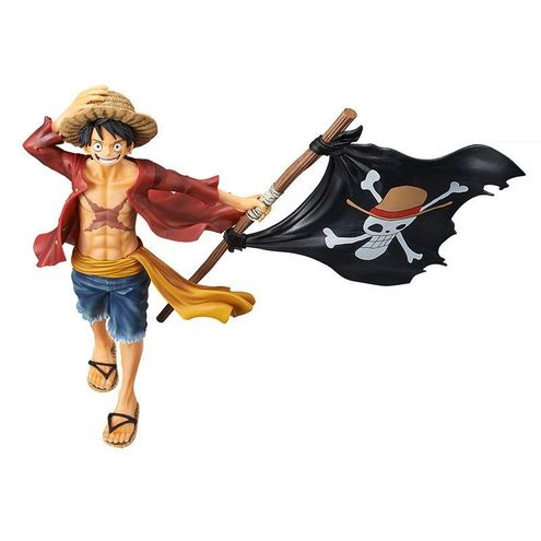 Action Figure One Piece - Monkey D. Luffy Magazine