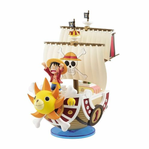 Action Figure - One Piece - Thousand Sunny - Mega Wcf