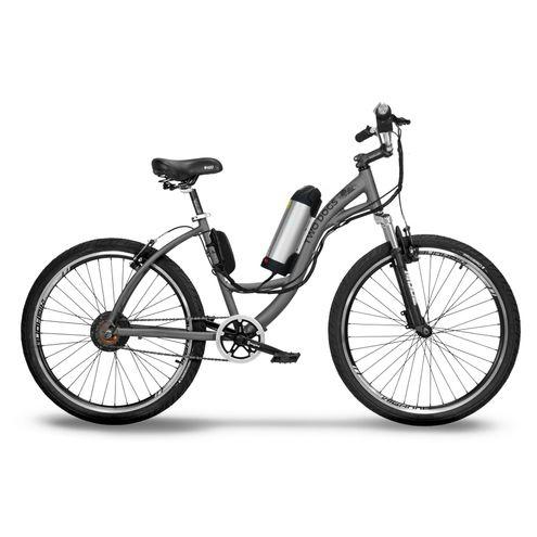 Bicicleta Two Dogs Aro 26 Slim Cinza Elétrica