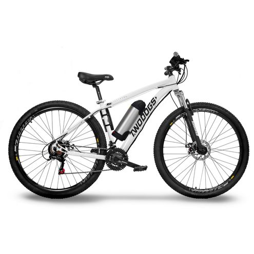 Bicicleta Two Dogs Mtb Aro 29 – Branca – 21V – Elétrica