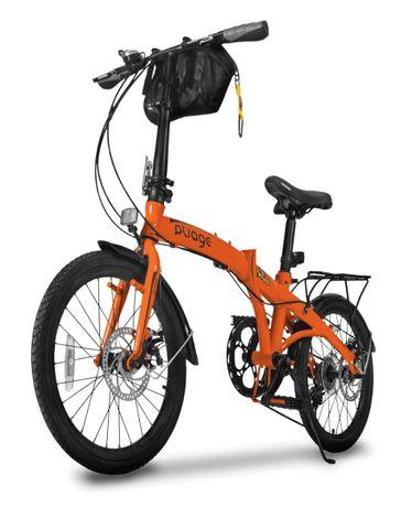 Bike Dobrável Pliage Plus Two Dogs Laranja