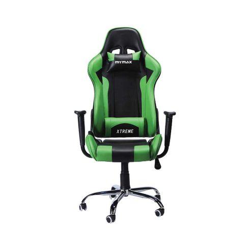 Cadeira Mymax Mx7 Preto / Verde (Mgcg-002V1/gr)