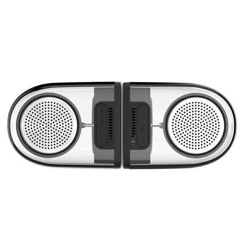 Caixa de Som Bluetooth Magnetica Portatil Rb-M22 Transparente