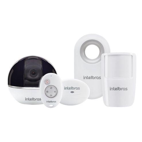 Câmera de Seguranca Wi-Fi Hd Giro 360º com Alarme Integrado Controle sem Fio Ic7S