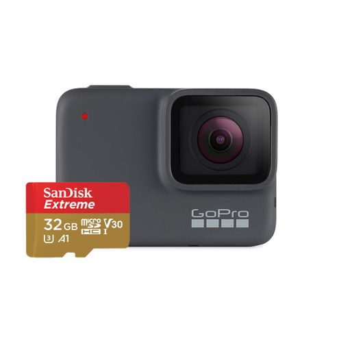 Câmera Gopro Hero 7 Silver com Sandisk 32Gb Chdsb-602
