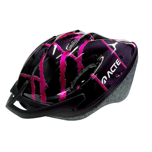 Capacete Bike Adulto Acte Sports Rosa