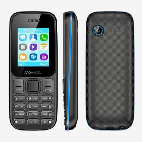 Celular Movacel A17, Dual Chip, Sms, Fm, Mp3, Câmera Vga , Bluetooth Azul