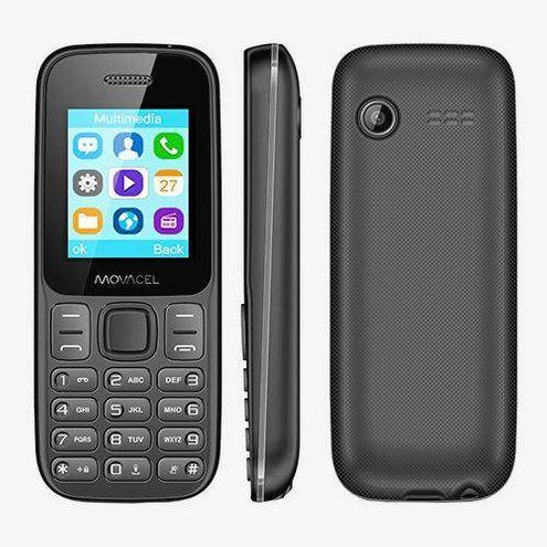 Celular Movacel A17, Dual Chip, Sms, Fm, Mp3, Câmera Vga , Bluetooth Preto