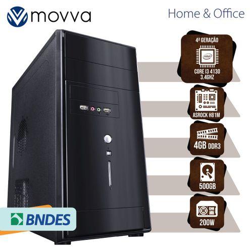Computador Hydro Intel I3 3.4Ghz 4ªGer Mem4Gb Ddr3 Hd500Gb Hdmi/vga Fonte200W Linux Mvhyi3H815004