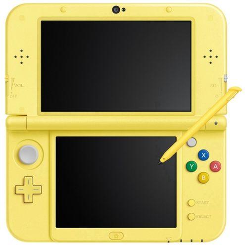 Console New Nintendo 3Ds Xl New Estilo Pikachu Edition - Amarelo